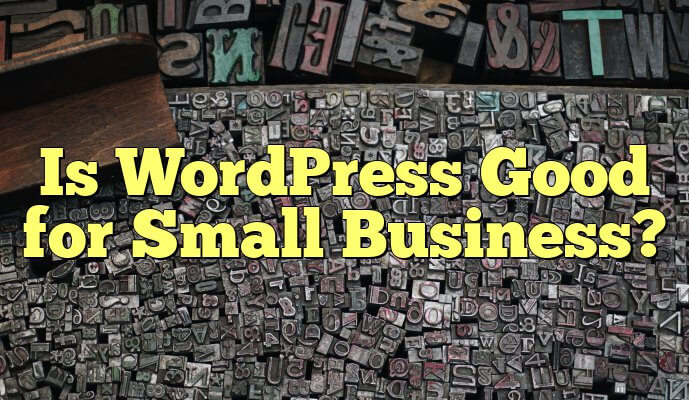 WordPress for small businesses